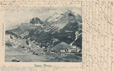 Inner-Arosa AK 1902 Panorama Alpen Schweiz Suisse Svizzera 1603392