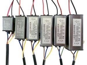 LED Driver Transformer 100W 50W 30W 20W 10W Power Supply Floodlight Waterproof