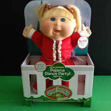 Cabbage Patch Kid Electronic Holiday Pajama Dance Party Toddler Doll LTD EDITION
