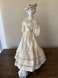 """BEAUTIFUL EMMA CLEAR GIBSON GIRL 18"""" TALL MARKED"""