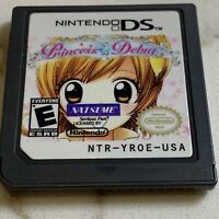 Princess Debut Nintendo DS Cartridge Only AUTHENTIC TESTED FAST SHIPPED
