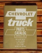 Original Chevrolet Truck Parts Catalog 1968 EUC!