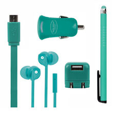 Universal Mobile Phone Accessory Bundles with Car Charger