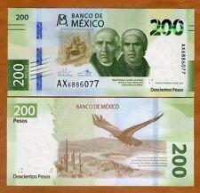 Mexico, 200 Pesos, 2019, P-New, UNC > Redesigned