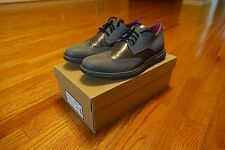 COLE HAAN LUNARGRAND WING TIP REFLECTIVE SIZE 10.5 PRE-OWNED VERY RARE FRAGMENT