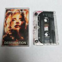 DEBORAH HARRY DEBRAVATION CASSETTE TAPE BLONDIE CHRYSALIS UK 1993