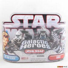 Star Wars Galactic Heroes Clone Obi Wan Kenobi & Durge 2 figure pack