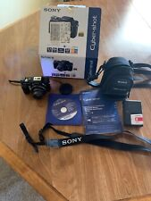 Pre Owned Sony Cyber-shot DSC-H10 8.1MP Digital Camera - Black Very Good