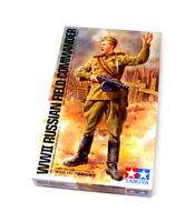 Tamiya Military Model 1/16 WW2 Russian Field Commander Figure Scale Hobby 36314