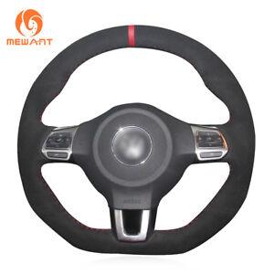 DIY Steering Wheel Cover for Volkswagen Golf 6 GTI MK6 VW Polo GTI Scirocco R
