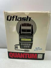 Quantum Qflash Model T Professional Auto/TTL Flash Unit NEW
