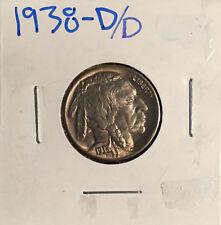 1938 D/D Buffalo Nickel ~ *Choice BU* ~ Boldly Detailed ~ Subtle Toned Beauty