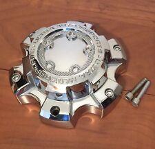 Ultra Motorsports Custom Wheel Center Cap Chrome Finish 89-9865 W/ Screws 6 Lugs