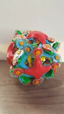 Hoberman Twist-O Transforming Gear Sphere Expandable Ball Colorful Toy