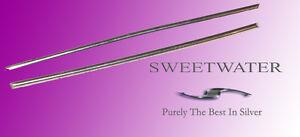 Sweetwater Pur Argent Tiges En Fil 99.99% 15.2cm Tiges Gratuit 1er Classe