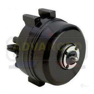 Condenser Evaporator Fan Motor Round CW 6W, 1300/1550 RPM LI 115V