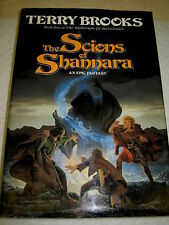 The Scions of Shannara by Terry Brooks SIGNED 1st/1st 1990 HCDJ
