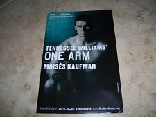 2011-2012 PLAYBILL - ONE ARM - NOAH BEAN KC COMEAUX CLAYBORNE ELDER HAUCK LAWSON