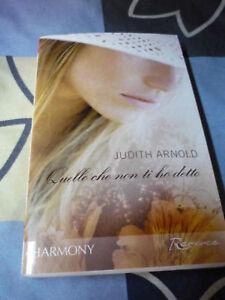 Quello che non ti ho detto Judith Arnold Harmony