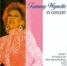 TAMMY WYNETTE - EN CONCERT CD ALBUM (A692)
