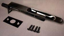 """Radius Flush Bolt Door Hardware 5-7/8"""" x 3/4"""" in  Antique Nickel"""