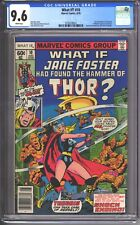 What If? #10 (1978) CGC 9.6 - 1st Jane Foster as THOR - Love & Thunder MCU