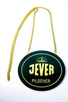 "Jever Bier, Emaile Zapfhahnschild ""Jever Pilsener"" mit Kette"