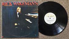 RICK WAKEMAN - CRIMINAL RECORD - ORIGINAL OZ A&M PROG ROCK LP - 1977