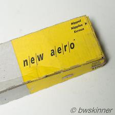 2x DT Swiss New Aero Bladed Spokes. 280mm. J-Bend.