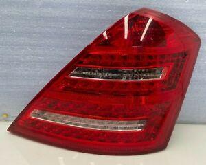 2010-2013 MERCEDES S CLASS W221 - RIGHT PASSENGER SIDE TAIL LIGHT LAMP OEM