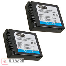 2pcs -- Battery for PANASONIC DMW-BM7 / CGR-S002E / CGA-S002A / CGA-S002E/1B