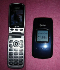 ONE Unlocked Pantech Breeze II P2000 3G Flip Cell Phone blue color