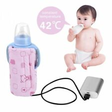 Baby Bottle Warmer Heater Portable Travel Kids Milk Water Heating Insulated Bag