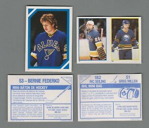 1985-86 O-Pee-Chee Hockey Stickers OPC Choose 10 From List And Get Free Shipping