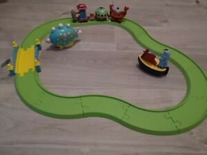 In the Night Garden ninky nonk train set & track Iggle piggle boat & pinky ponk