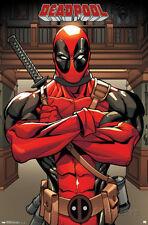 Deadpool Marvel Poster Print, 22x34