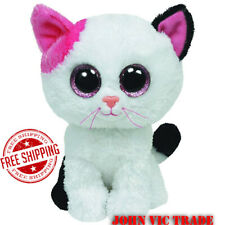 Muffin The White Cat Toy Doll Stuffed & Plush Animals Free Shipping without tag