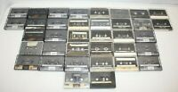 Mixed LOT of 36! High Bias Type II Cassette Tape Lot PRE-RECORDED Maxell TDK