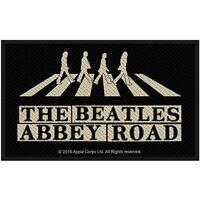 OFFICIAL LICENSED - THE BEATLES - ABBEY ROAD CROSSING & STREET SIGN SEW ON PATCH