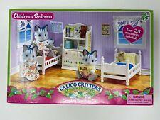 Calico Critters Complete Children's Bedroom Set Over 25 Accessories CC2441 White