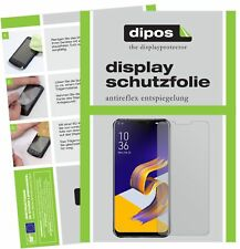 6x Asus Zenfone 5Z ZS620KL Screen Protector Protection Anti Glare dipos