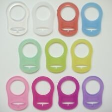 MAM Style Silicone Dummy Adapter,11 colours - TOP QUALITY  *Buy 2 get 1 Free*