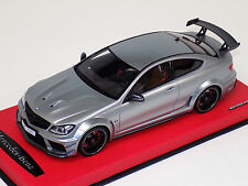 1/18 GT Spirit Street Mercedes Benz C63 AMG Black Series Silver Leather GT731