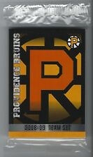 2018-19 Providence Bruins (AHL) complete 27 card team set