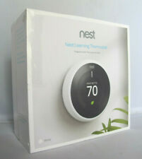 Nest T3017US Programmable Wi-Fi Learning Thermostat 3rd Generation - White