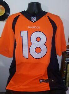 PEYTON MANNING #18 Denver Broncos 44 GG NIKE Youth On Field Jersey Orange/Black