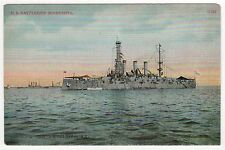 USS MINNESOTA PC Postcard BATTLESHIP BB-22 Navy NAVAL USN Military SHIP War