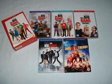 THE BIG BANG THEORY COMPLETE SEASONS 1 - 5 DVD BOX SETS REGION 2 (SERIES/SITCOM)