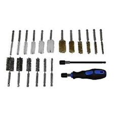 "GRIP 20pc Wire Bore Brushes Kit 1/4"" Shank Power Tools Brush Set 27226"