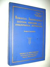 1948 Trade Catalog, Surgical Instruments, Suction, Anaesthesia, Photos, Prices